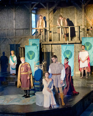 The Merry Wives of Windsor, by William Shakespeare. Richmond Shakespeare Festival, Richmond IN