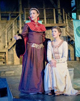 Cymbeline, by William Shakespeare. Richmond Shakespeare Festival, Richmond IN